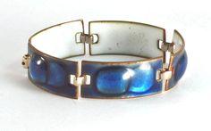 Kay Denning Enamel on Copper Bracelet
