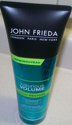 (NEW) John Frieda Luxurious Volume Core Restore Protein-Infused Shampoo is a great fit for my FINE Hair. Especially formulated to add Protein that my Fine Hair was lacking. I love the light scent. …