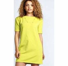 boohoo Scarlett Roll Back Ponte Shift Dress - lime Pick this ponte shift dress as your wardrobe hero for work or play - we want one in every colour! Style it with a tailored blazer , tights and pointed court heels for a polished look when youre not pa http://www.comparestoreprices.co.uk/dresses/boohoo-scarlett-roll-back-ponte-shift-dress--lime.asp