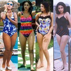 Meena Hot Photos, Ileana D'cruz, Hot Bikini, Hottest Photos, Bikinis, Swimwear, One Piece, Navel, Bra