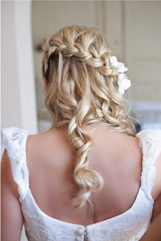 Braid + curls = Beautiful
