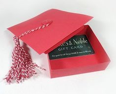 Project: Graduation Cap Gift Card Holder Box