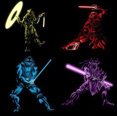 9 fusiones de las Tortugas Ninja con otros personajes - Batanga