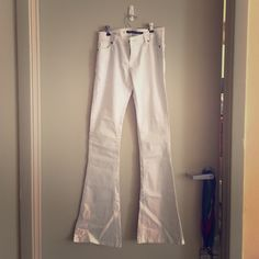 Urban Behavior-White Flared Jeans White flared jeans. New with tags Urban Behavior Jeans Flare & Wide Leg