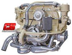 turnkey engines / custom aircooled vw motors built by Pat Downs of CB Performance Auto Volkswagen, Volkswagen Karmann Ghia, Jeep Cars, Vw Cars, Performance Vw, Vw Turbo, Combi T2, Bus Engine, Vw Baja Bug