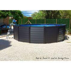 Above Ground Pool, In Ground Pools, Piscine Intex Graphite, Diy Furniture, Outdoor Furniture, Outdoor Decor, Piscina Intex, Swimming Pool Decks, Stock Tank Pool