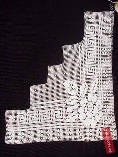 Crochet Table Runner, Crocheting