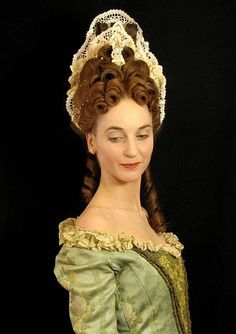 late baroque commode hairstyle - Google 搜索