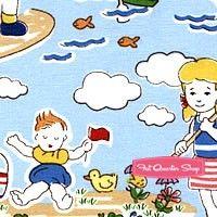 Storybook Vacation Multi A Day at the Beach Yardage SKU# 41075-X