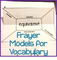 Using Frayer Models in Interactive Notebooks across Curriculum (with video)