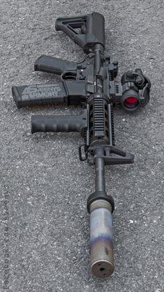 Schmeisser Assault Rifle from Germany Weapons Guns, Guns And Ammo, Ar Rifle, Battle Rifle, Weapon Of Mass Destruction, Firearms, Shotguns, Custom Guns, Military Guns
