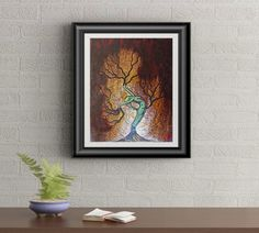 Nature Of Being Tree Woman Signed and Numbered by artistRafiPerez Number Art, Tree Woman, Contemporary Artists, Art Prints, Gallery, Unique Jewelry, Handmade Gifts, Nature, Artwork