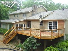 Mid Elevation Deck Picture Gallery