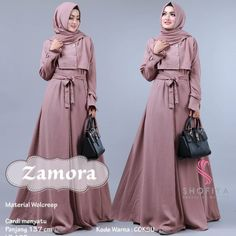 Check out trending dresses for Muslim Dress, Muslim Hijab, Casual Hijab Outfit, Hijab Chic, Abaya Fashion, Fashion Outfits, Womens Fashion, Moslem Fashion, Arabic Dress