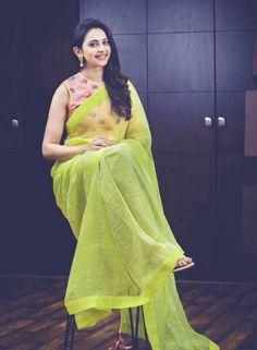 Rakul Preet Singh Images Wallpaper Photo Free HD Download Wallpaper Photo Hd, Wallpaper Pictures, Saree Trends, South Actress, India Beauty, Indian Sarees, Picture Photo, Beautiful Saree, Girly