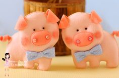 Ei Menina!: Dois porquinhos...