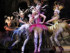 """Costumes - Love Never Dies.  """"Only for You"""" Meg Giry and Coney Island chorus girls."""