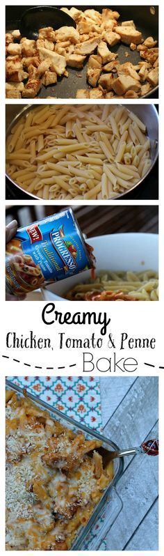 This Creamy Chicken, Tomato and Penne Bake is the perfect #FoodForYourMood! AD