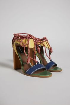 471d19c49d29 Dsquared2 Bad Scout Yukon Knot Sandals - High Heeled Sandals for Women