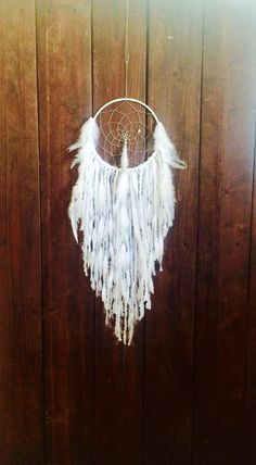 Hey, I found this really awesome Etsy listing at https://www.etsy.com/ca/listing/237038494/white-dream-catcher-white-dreamcatcher