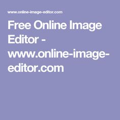Free Online Image Editor - www.online-image-editor.com