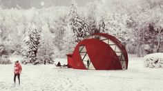 Latvian architectural firm NRJA has revealed its plans to produce an off-the-grid geodesic...