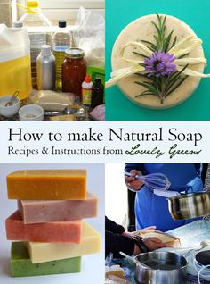 HOW TO MAKE NATURAL SOAP | A four-part series that includes recipes and instructions on how to create all-natural cold-process soap from the comfort of your own home #soap