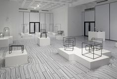 Mind Bending Nendo Exhibition in Taiwan in home furnishings art  Category