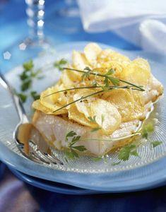 60 recettes légères et savoureuses à base de poisson : Filet de cabillaud aux girolles et courgettes - Cuisine Plurielles.fr