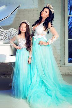 Платья для фотосессии мама 400 грн +дочь 250 грн