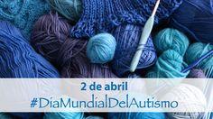 Hoy 2 de abril el el Día mundial de la concienciación sobre el autismo. Nos unimos tejiendo una bufanda azul #autismo #luzazul2016
