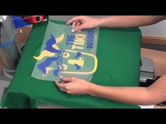 How to create a 4 color design using Premium Plus™heat transfer material with a vinyl cutter and heat press from Stahls.com