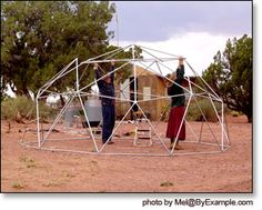 Constructing Our Geodesic Dome — ByExample.com