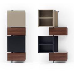 Giralot Open And Closed Good Design Resource Furniture Smart Furniture, Modular Furniture, Steel Furniture, Design Furniture, Upcycled Furniture, Unique Furniture, Furniture Plans, Furniture Makeover, Painted Furniture