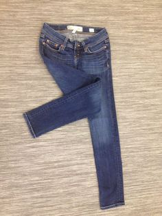 9d038607186 BKE STELLA SKINNY SIZE 24 LOW RISE DARK JUNIORS STRETCH JEANS 28X30 EUC!  T98