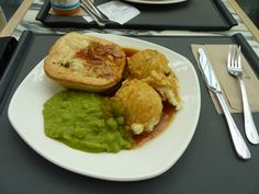 Pie and mash from Square Pie, Westfield, London