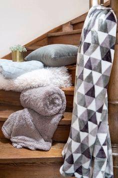 Pléd Mistral Home Flannel printed Pyramid zelená cm Flannel, Blankets, Studios, Plaid, Prints, Home, Gingham, Flannels, Blanket