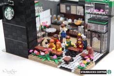 Lego MOC Starbucks Cafe (10)