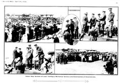 ANZAC Day in Pictures Around Australia in the Years 1920 & 1922 Includes a poem titled Gallipoli by P. of Anson's Bay, Tasmania Anzac Day Australia, Western Australia, Poem Titles, World War One, Historical Pictures, Tasmania, Wwi, 1920s, Celebrations