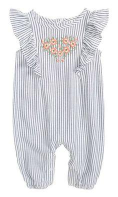 fb64d792b14 flutter sleeve embroidered romper  toddler  affiliate Baby Girl Romper