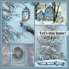 collage by blj I Love Winter, Winter Night, Winter Is Coming, Winter White, Christmas Collage, Blue Christmas, Winter Christmas, Mood Colors, Colours