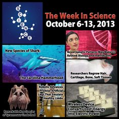 #TheWeekInScience for #ScienceSunday! A week's worth of #Science news for you! http://gplus.to/sharedscience