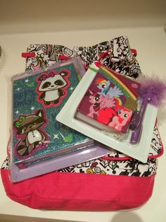 Colorful school supplies from @Claire's Stores #ClairesBTS