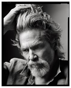 Jeff Bridges; photo by Mark Seliger | Doughnuts Time