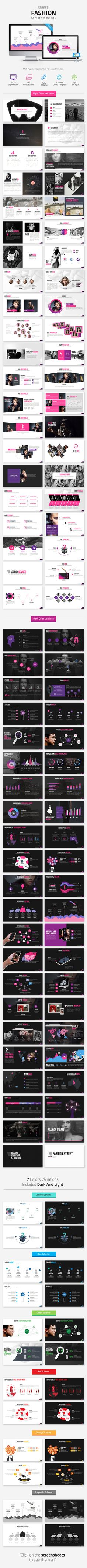 Fashion #Keynote Templates - Keynote Templates Presentation Templates