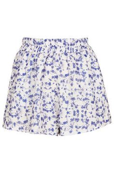 **Ditsy Print Shorts by Oh My Love