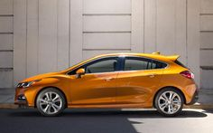 The 2019 Cruze is offered as a sedan or a hatchback, and both blend phenomenal features with stellar mpg ratings. Learn more with Chevrolet of Naperville. Chevrolet Cruze, Hatchback Cars, Cute Cars, Small Cars, Diesel Engine, Driving Test, Dream Cars, Fitness, Trucks