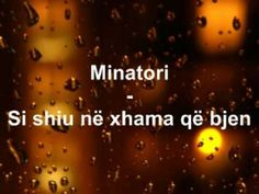 Minatori - Si shiu në xhama që bjen