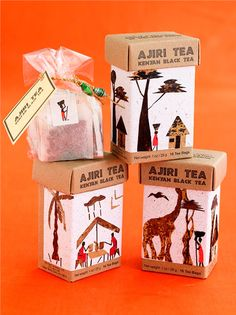 AjiriTea - The Dieline - The #1 Package Design Website -