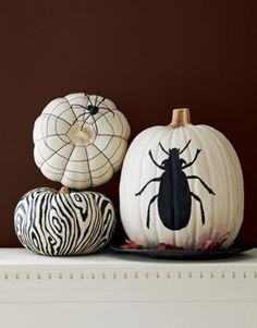 Feestdagen | Een hippe Herfst en Halloween met geschilderden pompoenen